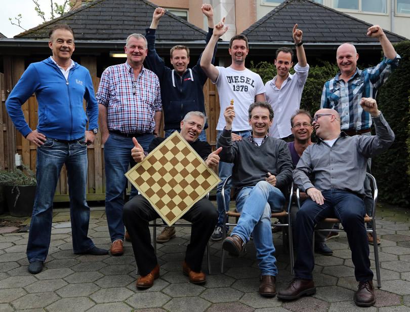 Dubbelschaak 1 kampioen 3de klasse KNSB!