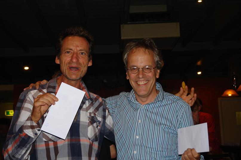 Manuel Bosboom en Herman Grooten gedeeld 2de