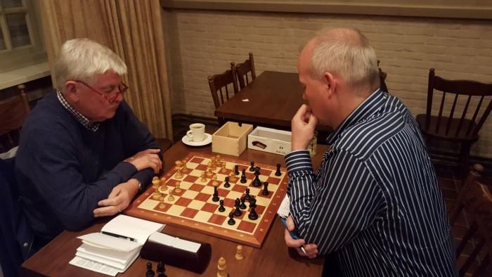 De Meierij Cup is van start gegaan met oa de match Hans - Gilion