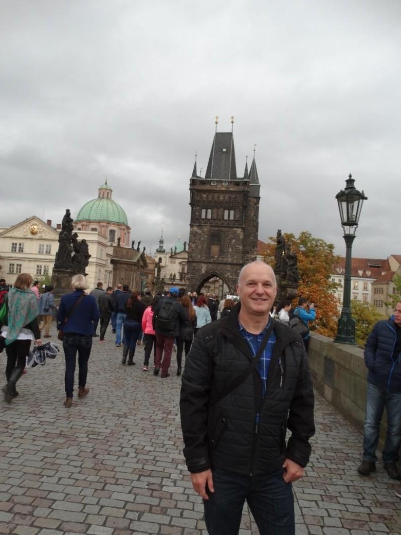 Rob op de Karelsbrug