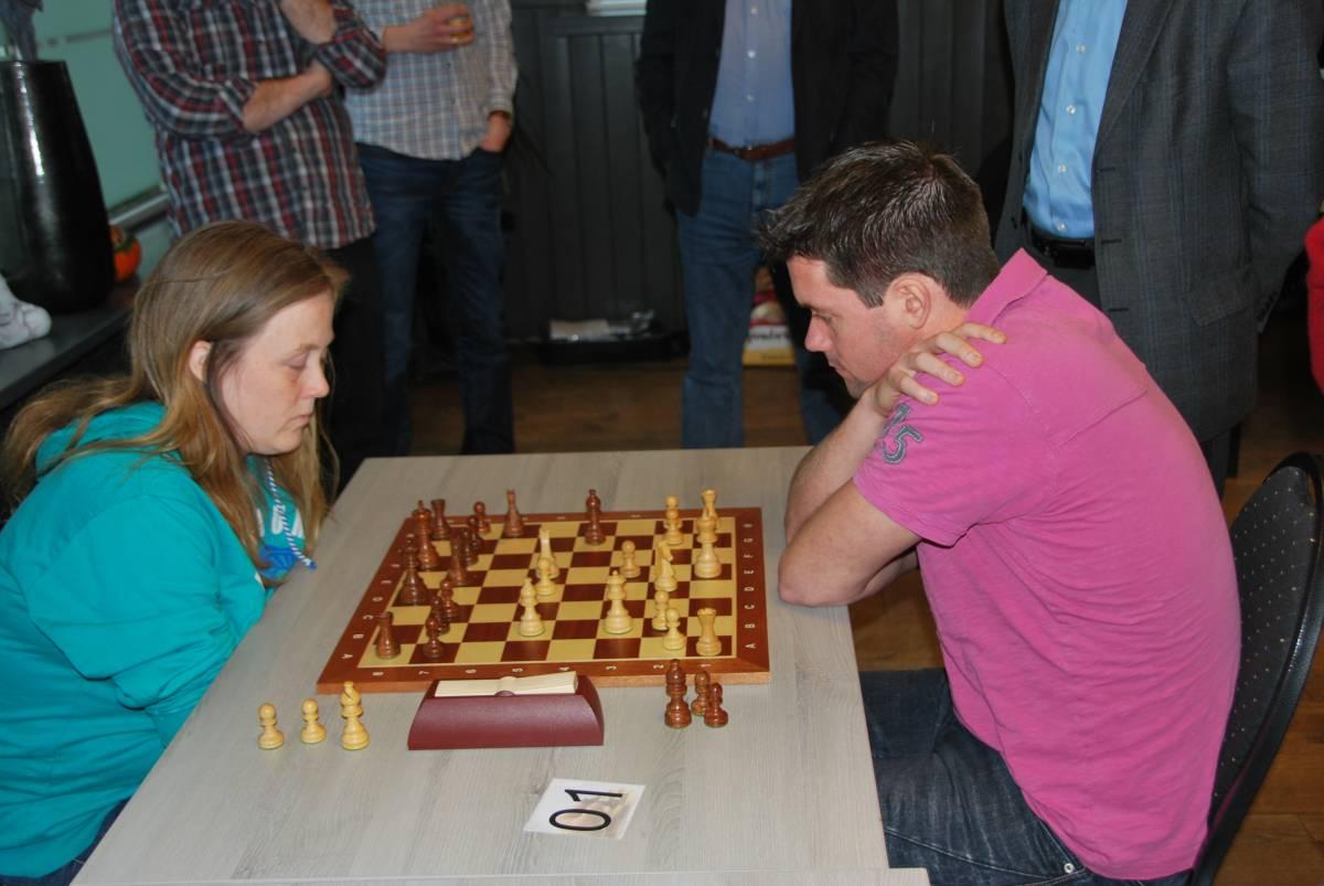 Een heel leuk potje tegen Mariska de Mie (foto: website Elster Toren)