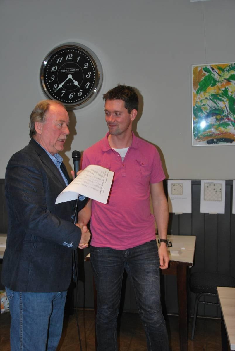 Toch nog een prijsje! (Foto: Website Elster Toren)