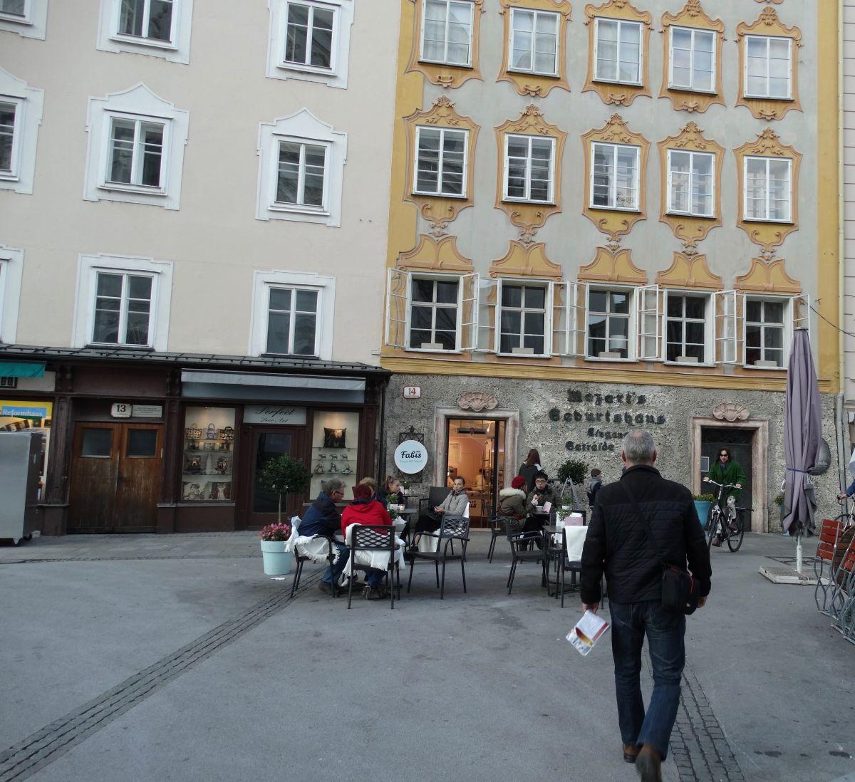 Mozart geboortehuis