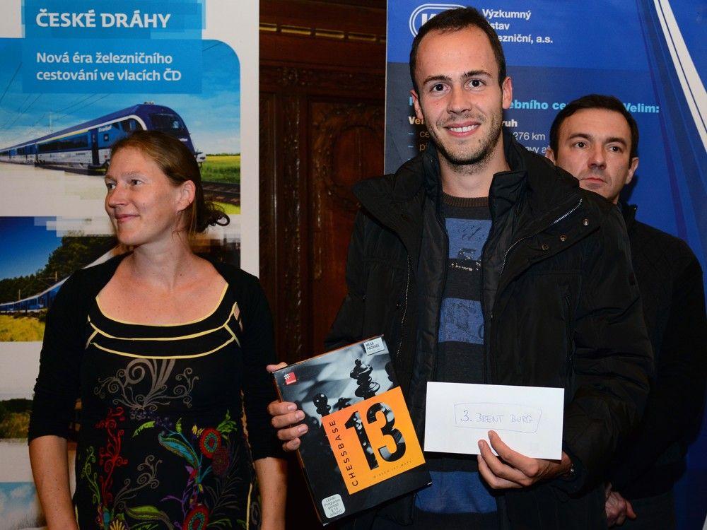 3e prijs voor Brent !!