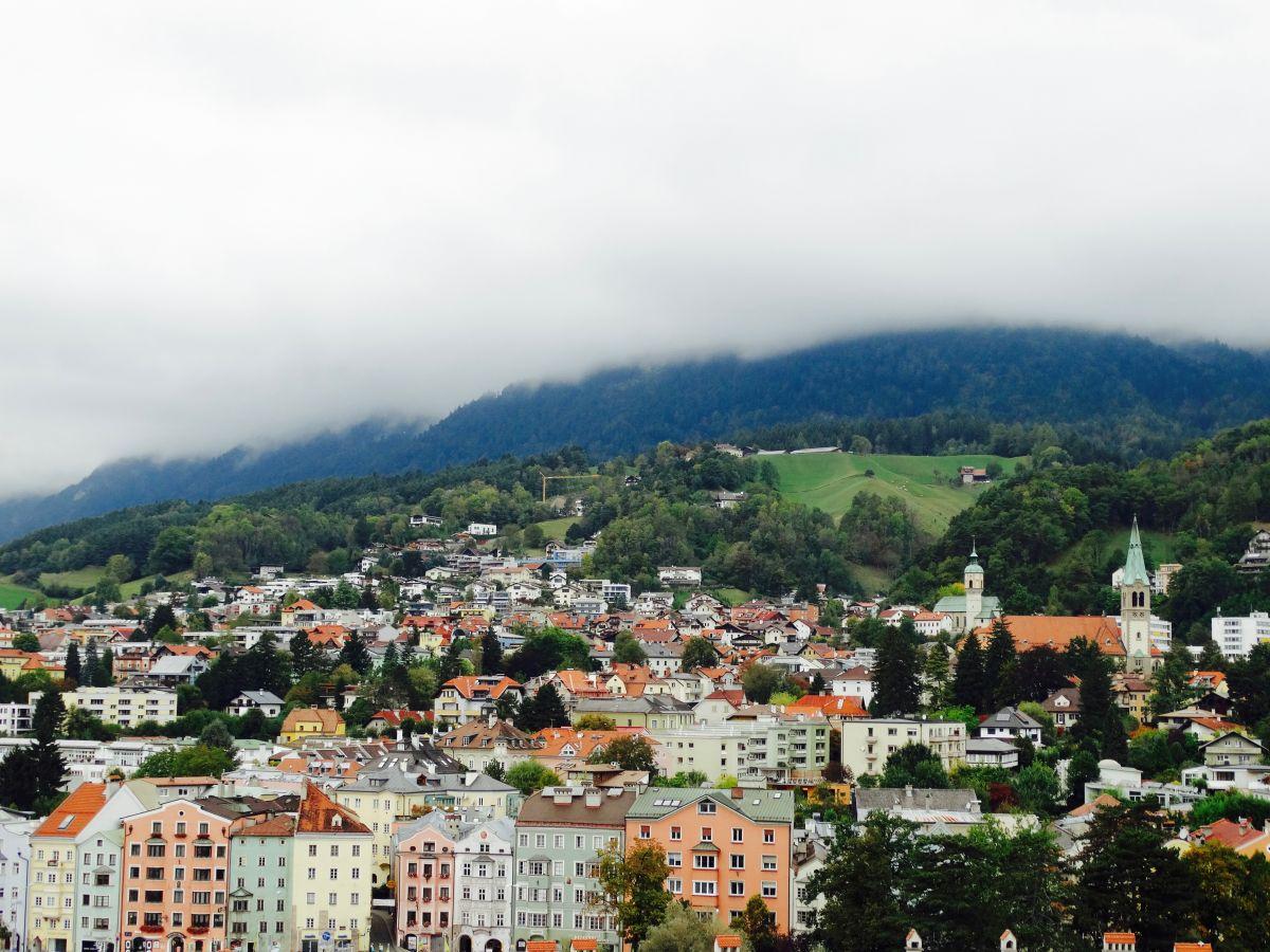 Innsbrück in de bergen