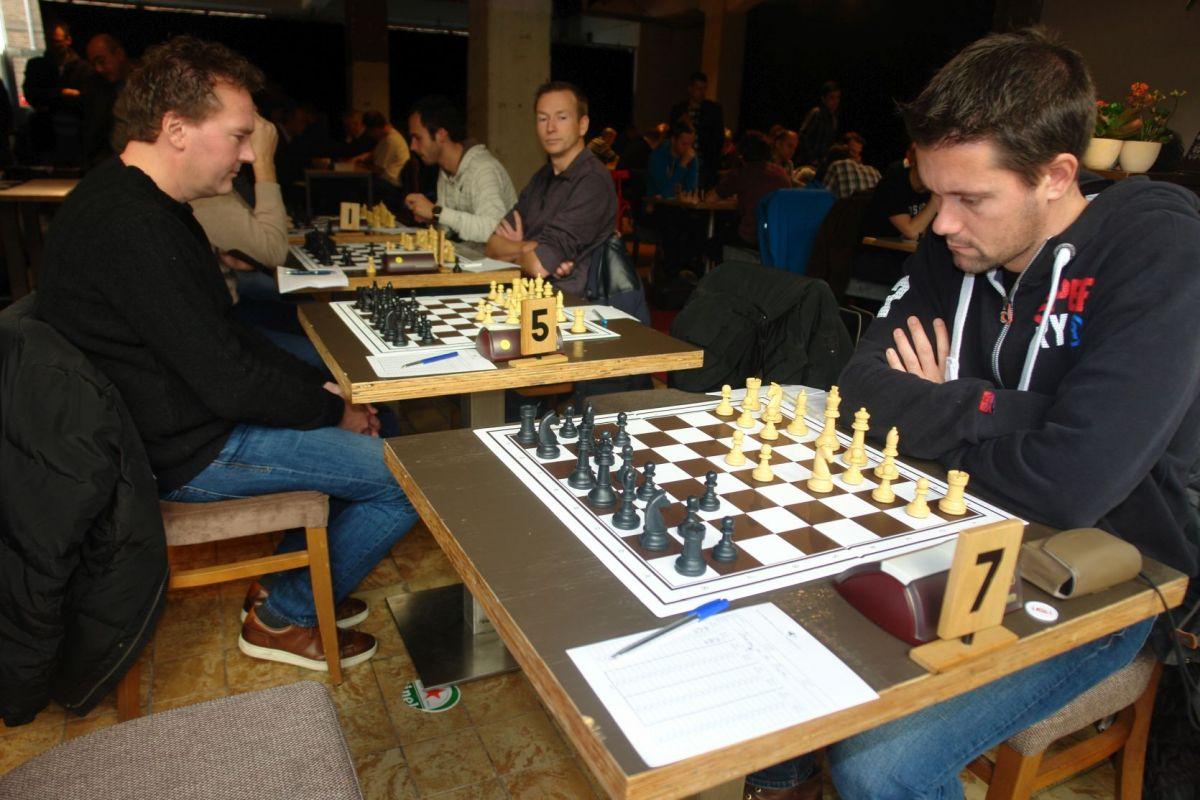 Teamcaptain Martien pakt een vol punt (foto Rene Olthof)