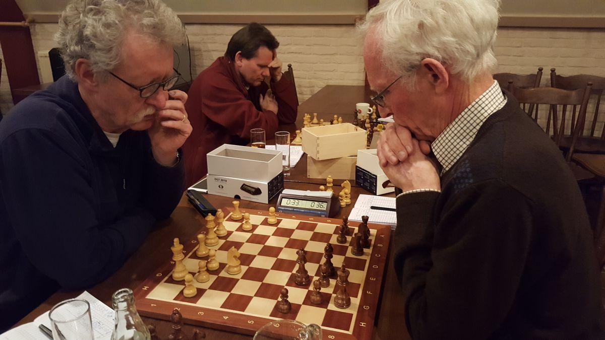 Tussen deze 2 mannen is een remise niet een heel verrassende uitslag :-)