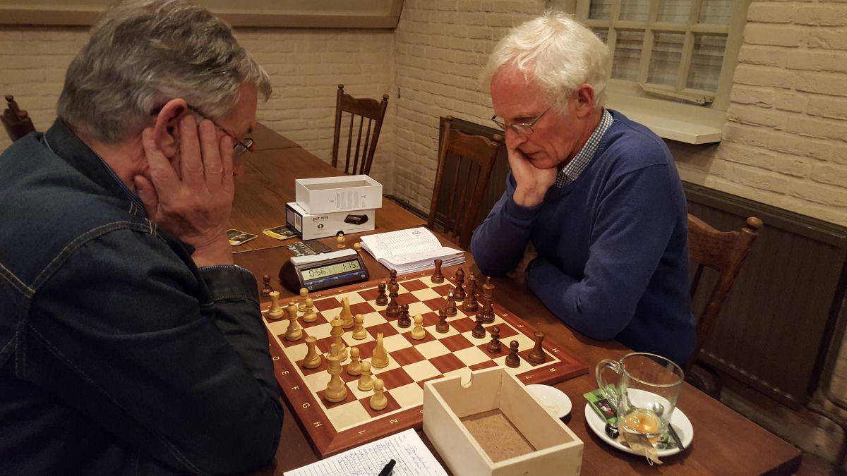 Tom en Ebe speelde een ogenschijnlijk solide remise.